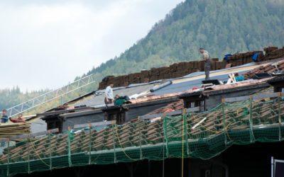 Quel est le prix de la rénovation de toiture d'une grange ?